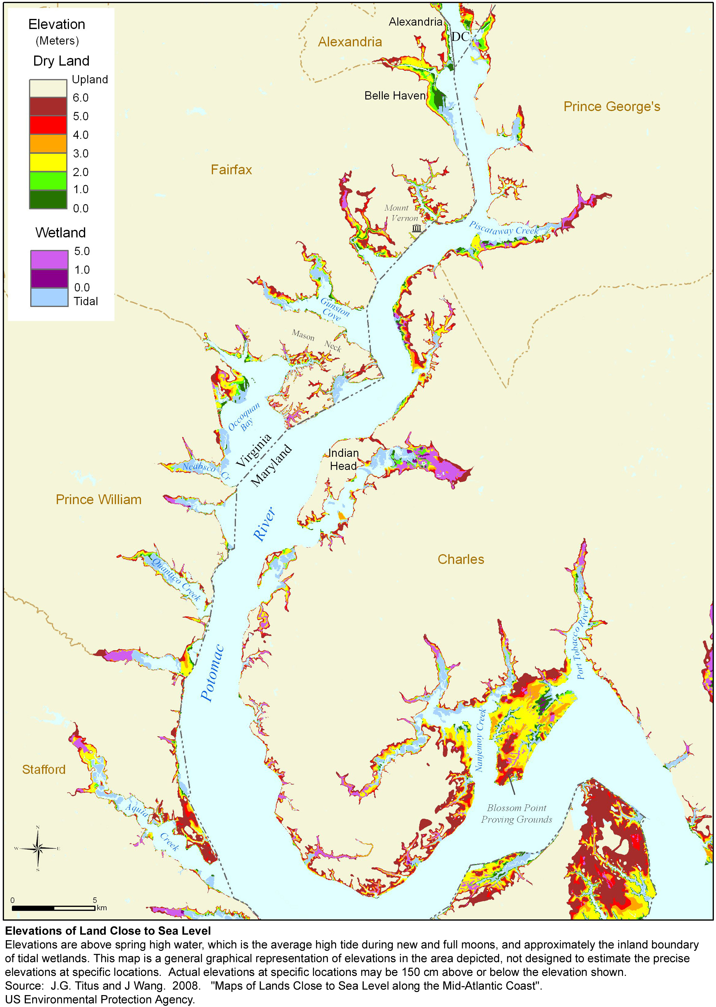 Sea Level Rise Planning Maps Likelihood of Shore Protection