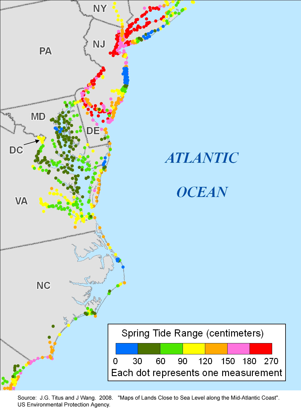 More Sea Level Rise Maps - Us sea level rise map